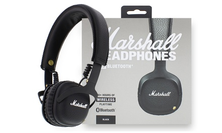 Auriculares con Bluetooth Marshall