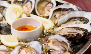 Seafood and American Cuisine for Two People at Tony's Oyster Bar (43% Off)