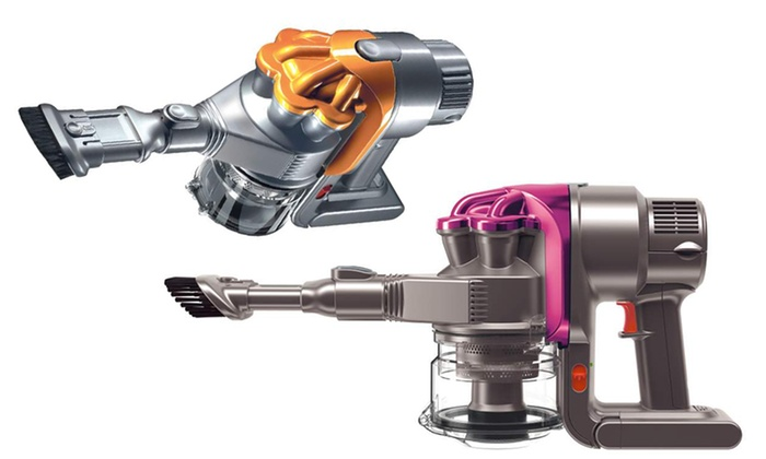 dyson dc16 handheld vacuum refurbished groupon. Black Bedroom Furniture Sets. Home Design Ideas