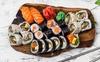 Zestawy sushi: 24-72 szt.
