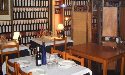 Menú gallego con entrante, principal, postre, bebida y café para 2 o 4 personas desde 26,90 € en O Picoteo 2