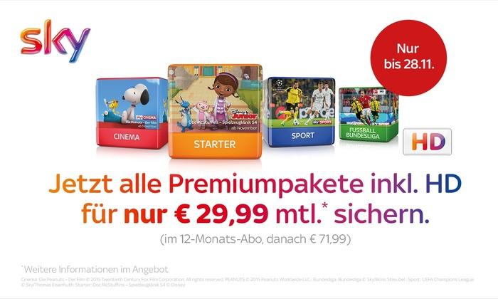 Sky Deutschland Angebote
