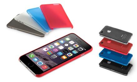1 o 2 fundas protectoras ultra finas para iPhone 4, 5, 6 o 6 Plus con opción a bolsillo