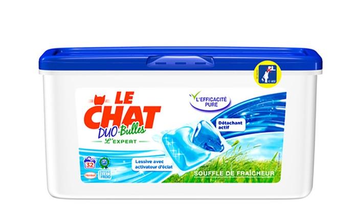 Fino a 360 capsule per lavatrice Le Chat Duo da 53,99 € (fino a 42% di sconto)
