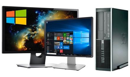 Ordenador HP Core 2 Duo 4GB Ram con opción a monitor de hasta 22'' reacondicionado (envío gratuito)