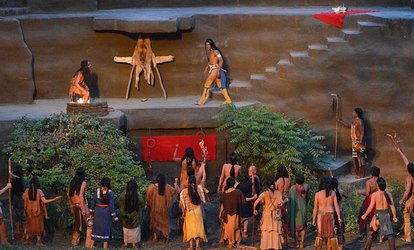 """Tecumseh!"" Outdoor Historical Drama (June 11–28 at 8 p.m.)"