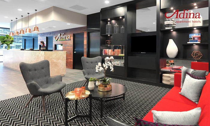 Adina Apartment Hotel Sydney Airport - Sydney: Sydney, NSW: Up to Three Nights for Two People with Late Check-Out and Parking at Adina Apartment Hotel Sydney Airport