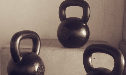 Up to 57% Off Month Kettle Bell Training at Wolf Pack Fitness LLC