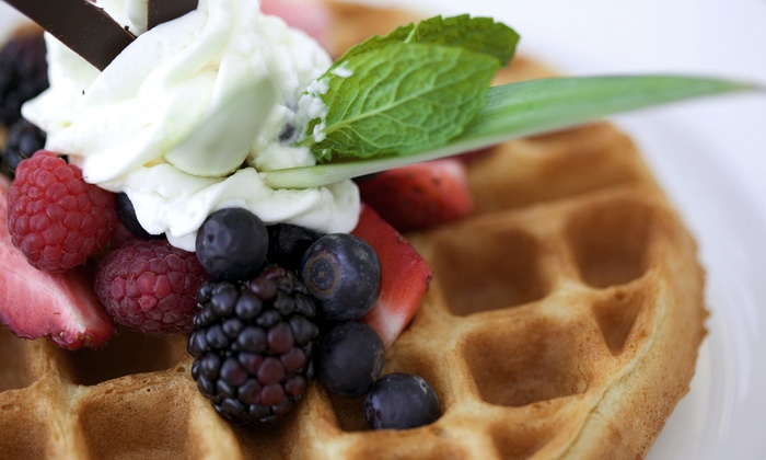Waffles - Chicago: $22 for Brunch for Two with Hot Cocoa Flights at Waffles (Up to $39.80 Value)