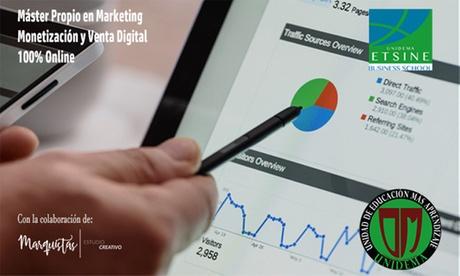 Curso online de Marketing, monetización y venta digital con Unidema (con 99% de descuento)