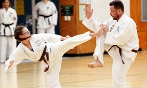 Pacific International Taekwondo: Taekwondo - 10 ($29), 20 ($69) or 30 Classes ($99) at Pacific International Taekwondo, 15 Locations (Up to $360 Value)