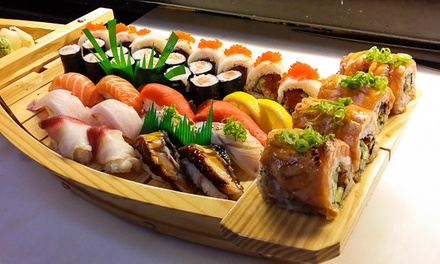 $17 for $25 Towards Japanese Cuisine for Two or More at Wild Wasabe