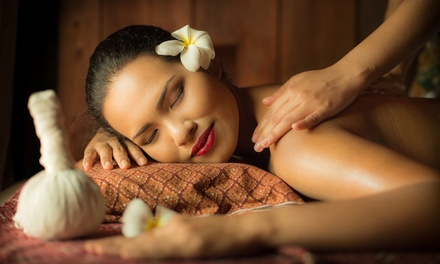 Choice of 60-Minute Massage ($39) + 30-Minute Reflexology ($59) at Royal Herbal Thai Massage (Up to $105 Value)