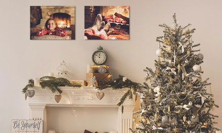 Two or Four Canvas Prints from €9.99 (Up to 84% Off)