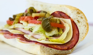Fontano's Subs- Naperville: $6 for $10 Worth of Sub Sandwhiches and More at Fontano's Subs of Naperville