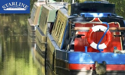 image for Full Day Narrowboat Hire for Up to 12 from Starline Narrowboats (Up to 33% Off)