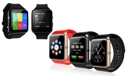 Smartwatchs Bluetooth con camera disponibili in due modelli e vari colori