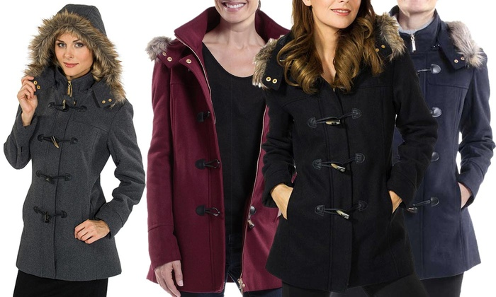 0e8a1f7db Up To 78% Off on Women's Hooded Parka Jacket | Groupon Goods