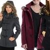 Alpine Swiss Duffy Women's Hooded Parka Jacket