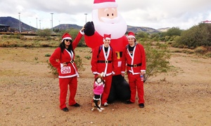 Arizona Knowledge, Empowerment, and Advocacy Group: 5K Santa Run for One or Two from Arizona Knowledge, Empowerment, and Advocacy Group (Up to 55% Off)