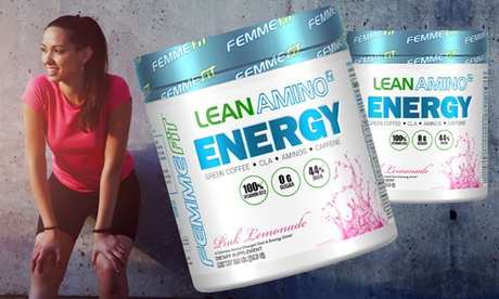 FemmeFit Lean Amino Energy Fat-Burning Pink Lemonade (28 Servings)