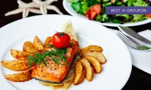 Restauracja Barka Batory: Romantyczna 3-daniowa kolacja dla dwojga od 109,99 zł w Restauracji Barka Batory (do -44%)