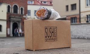 Sushi Rolls Grab&Go: 2 wybrane rolki sushi od 12,99 zł i więcej opcji w Sushi Rolls Grab&Go (do -35%)