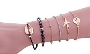 Ensemble de 6 bracelets ZOE
