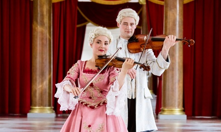 """Klassik-Konzert """"Mozarts Meisterwerke & Dinner"""" in der Großen Orangerie Schloss Charlottenburg (30% sparen)"""