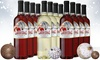 Castle Claus Holiday Wine Mixed Variety Pack (12-Pack)