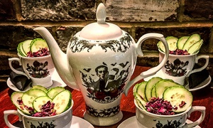 Lazy Lounge: Saturday Afternoon Tea with Gin Punch for Up to Four at Lazy Lounge (46% Off)