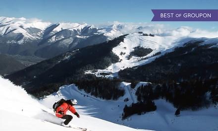 Forfait ski d'1, 2 ou 6 journées en solo ou en duo, accès balnéothérapie optionnel dès 23 € à Luchon Superbagnères