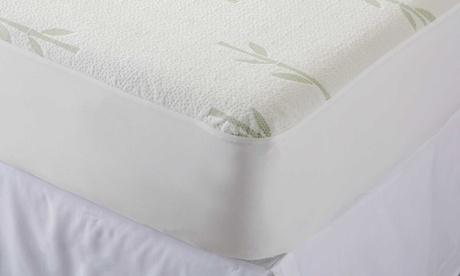 Waterproof Hypoallergenic Bamboo Mattress Protector