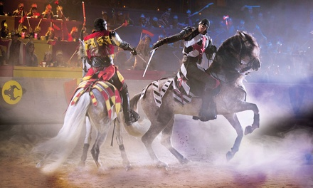 Medieval Times Dinner & Tournament (June 3 – August 31). ALL NEW SHOW!