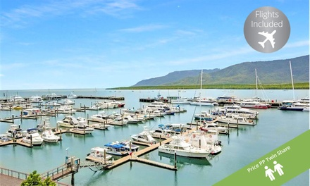 ✈ Cairns: From $599 Per Person for a 3-Night Mystery 5* Holiday Escape with Flights and Bottle of Wine