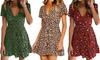 Women's Leopard Print Dress
