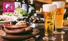 2名分~(4,500円/名)コース料理+樽生ビール10種など飲み放題3時間