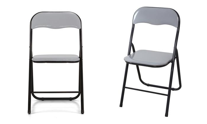 Fino a 71% su Set 6 sedie pieghevoli ColorGlossy | Groupon