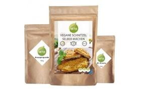 VETZI: 2, 5 oder 10 Sets für vegane Schnitzel zum Selbermachen bei Vetzi (bis zu 44% sparen*)
