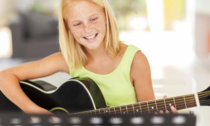 Py Rock Music School - Elizabeth: 45-Minute Musical Instrument Lesson at PY Rock Music School (54% Off)