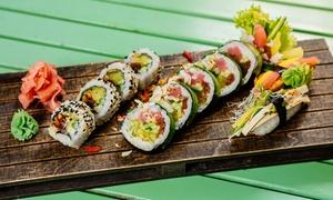Zestawy sushi: Vegański Zdrowy Przystanek za 22,80 zł i więcej opcji w restauracji Vege Sushi – 2 lokalizacje