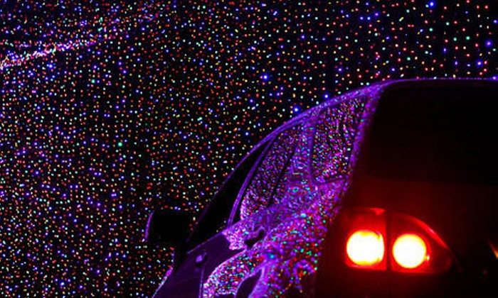 Louisville Mega Cavern - Poplar Level: $15 for an Underground Holiday Lights Tour for a Car, Truck, Minivan, or SUV at Louisville Mega Cavern ($25 Value)