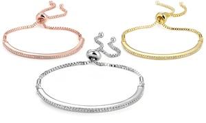 (Exclusive)  Bracelet orné cristaux Swarovski® -79% réduction