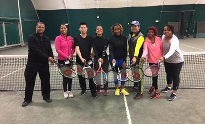 Three-Week Adult Beginners' <strong>Tennis</strong> Program at College Park <strong>Tennis</strong> Club (Up to 89% Off)