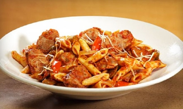 The Pasta Factory - Albany / Capital Region: $18 for an Eclectic Continental Meal for Two with Wine at The Pasta Factory in Latham (Up to $37.97 Value)