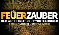 """Ticket für """"Feuerzauber - der Wettstreit der Pyrotechniker"""" mit Bonuspaket in Oberhausen oder Braunschweig (47% sparen)"""
