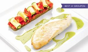 """Le Bistroquet: Menu """"Gourmand"""" ou """"Découverte"""" pour 2 convives par le chef Karine Ponsarddès 75 € au restaurant Le Bistroquet"""