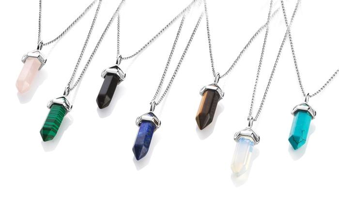 One or Two Philip Jones Gemstone Necklaces