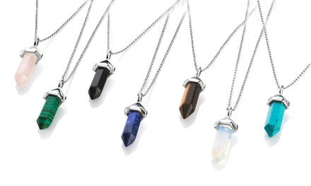 Philip Jones Gemstone Necklace