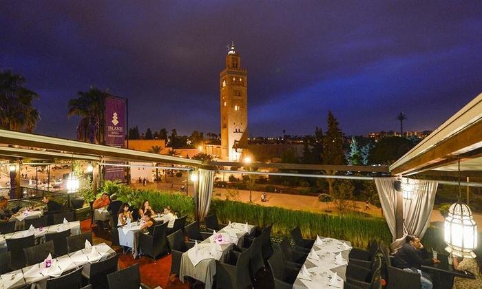 Hotel Islane - Marrakech: Marrakech, Hotel Islane: Fino a 7 notti con pernottamento in camera doppia, colazione e Hammam per 2 persone